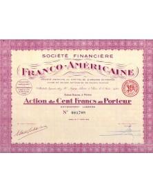 Sté Financière Franco-Américaine