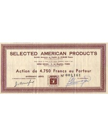 Selected American Products