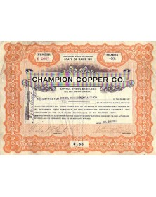 Champion Copper Co.