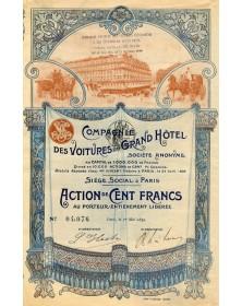 Cie des Voitures du Grand Hôtel