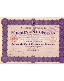 Sté Française des Pétroles de Malopolska