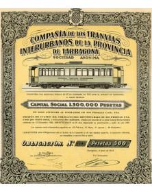 Cia de los Tranvias Interurbanos de la Provincia de Tarragona