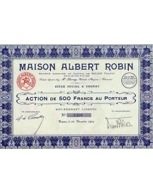Maison Albert Robin (Alcools)