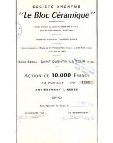 S.A. ''Le Bloc Céramique''