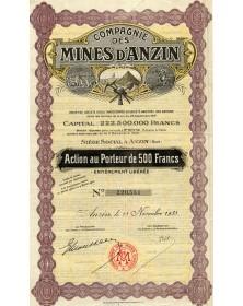 Cie des Mines d'Anzin