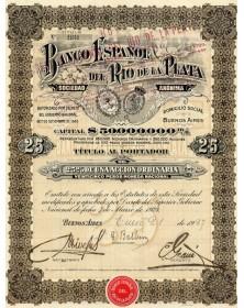 Banco Espanol Del Rio De La Plata