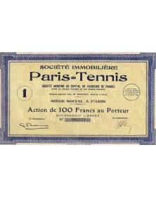 Sté Immobilière Paris-Tennis