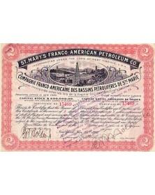 Cie Franco-Américaine des Bassins Pétrolifères de Ste-Marie