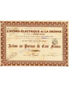 L'Hydro-Electrique de la Dronne