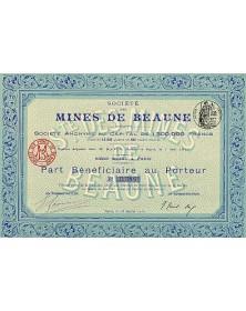 Sté des Mines de Beaune