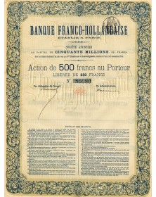 Banque Franco-Hollandaise