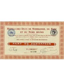 Hotels des Ducs de Normandie, du Parc et du Nord Réunis