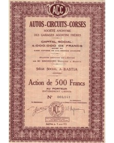 Autos-Circuits-Corses - S.A. des Garages Agostini Frères