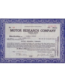 Motor Research Co.