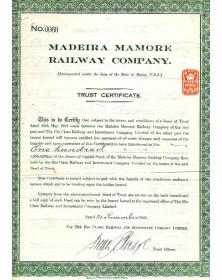 Madeira Mamore Railway Co.