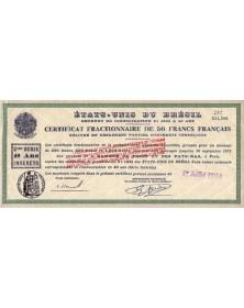 Emprunt de consolidation 5% 1931 à 40 ans