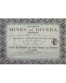 Sté des Mines de Rivera