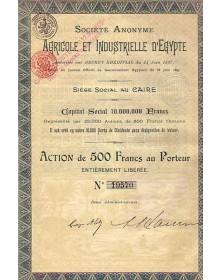 S.A. Agricole et Industrielle d'Egypte