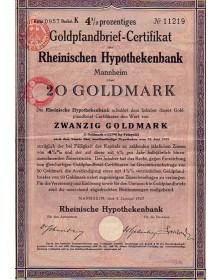 Rheinischen Hypothekenbank Manheim