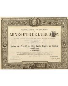 Cie Française des Mines d'Or de l'Uruguay