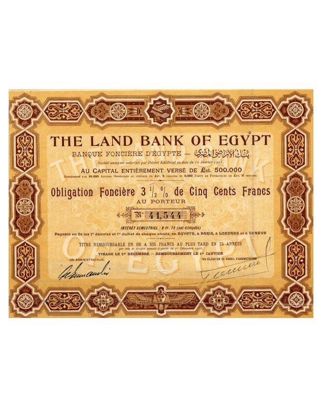The Land Bank of Egypt