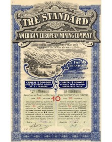 The Standard - American European Mining Co.