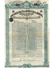 Gouvernement des Etats-Unis du Brésil - Emprunt 5% 1909