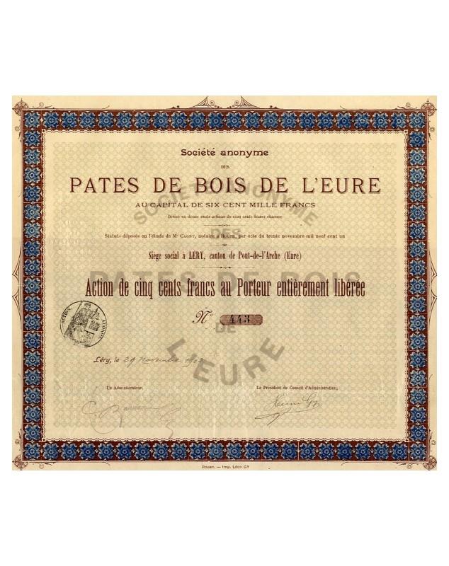 S.A. des Pâtes de Bois de l'Eure