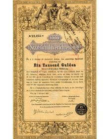 Österreich Statsschuldverschreibung - 1000Gd