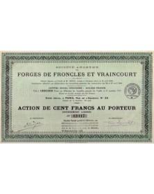S.A. des Forges de Froncles et Vraincourt