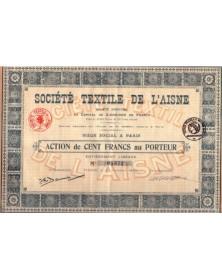 Sté Textile de l'Aisne