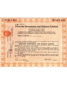 Peruvian Investment and Finance Ltd