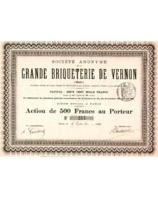 S.A. de La Grande Briqueterie de Vernon (Eure)