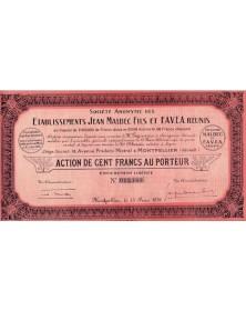 S.A. des Ets Jean Malbec Fils et F.A.V.E.A. Réunis