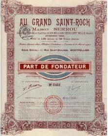 Au Grand Saint-Roch Maison Serrou