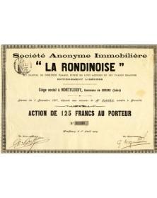 S.A. Immobilière ''La Rondinoise''