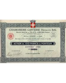 Chamoiserie-Ganterie Hippolyte Bal