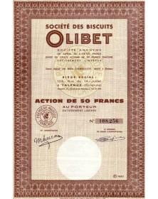 Sté des Biscuits Olibet