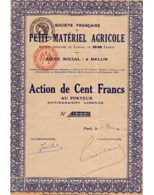 Sté Française de Petit Matériel Agricole