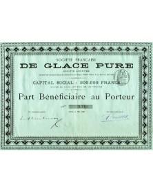 Sté Française de Glace Pure