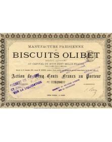 Manufacture Parisienne des Biscuits Olibet