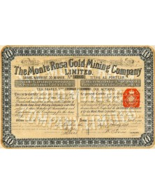 The Monte Rosa Gold Mining Company