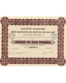 S.A. des Maisons de Repos de Savoie