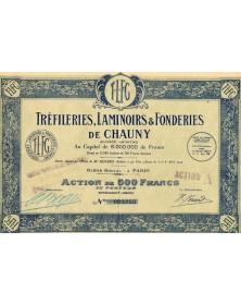 Tréfileries, Laminoirs & Fonderies de Chauny