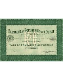 Elevages & Porcheries de L'Ouest