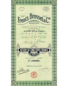 Frents, Brosset & Cie, Banquiers, Dreux