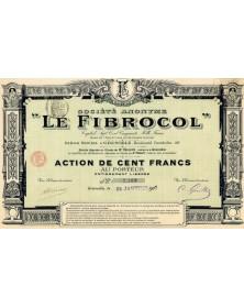 S.A. ''Le Fibrocol''