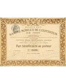 Stés des Rampes Mobiles de l'Exposition de 1900