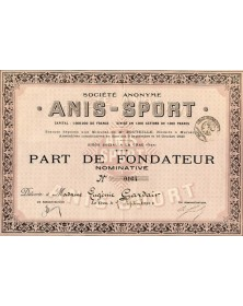 S.A. ''Anis-Sport''