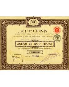 Jupiter Cie Anonyme d'Assurances et de Réassurances